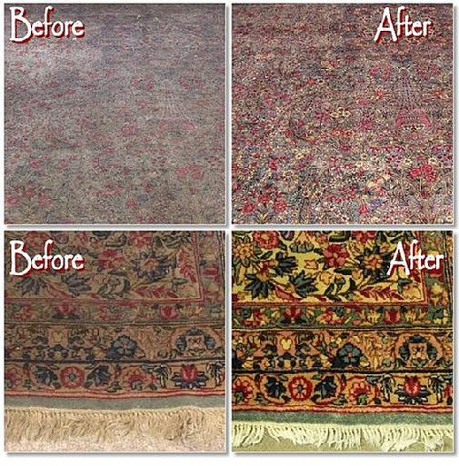 Well For Starters The Rug Hadn T Been Cleaned In Many Years Fact Maybe Ever End Result Was Dramatic
